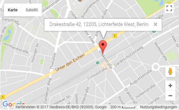 Chiropraktik Berlin - Anfahrt
