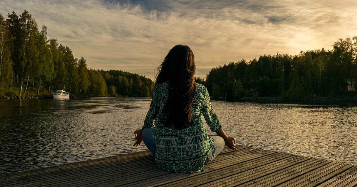Atemübung aus der Welt des Yoga